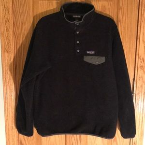 Patagonia Synchilla Pullover Snap-T Black